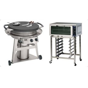 Grills + Ovens + Fryers