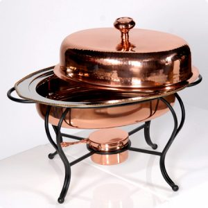 Copper Chafers + Urns