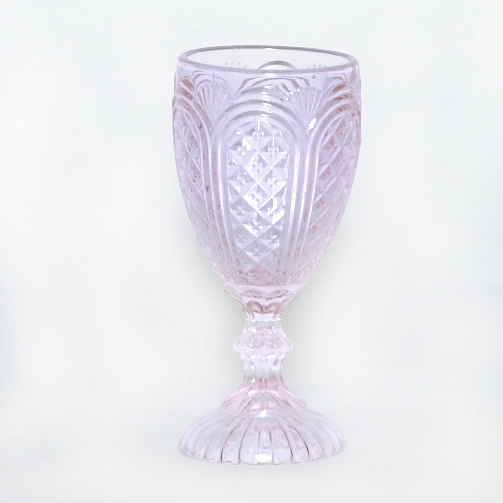 Pink Carousel Goblet - Swift + Company