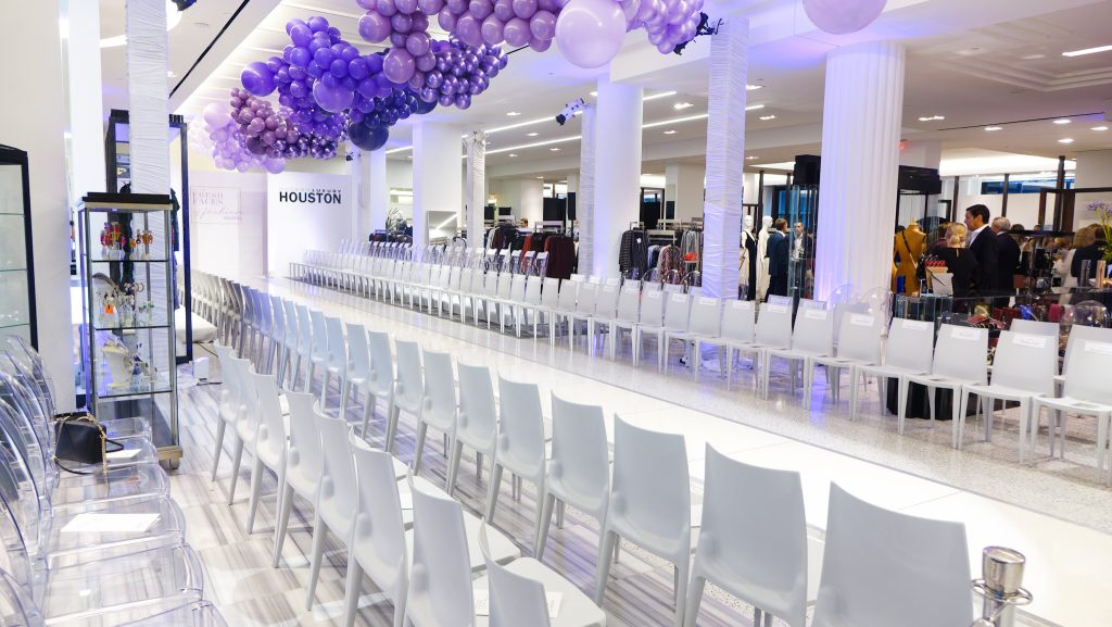 Swift + Co  Rentals Bellini Chairs and White Runway