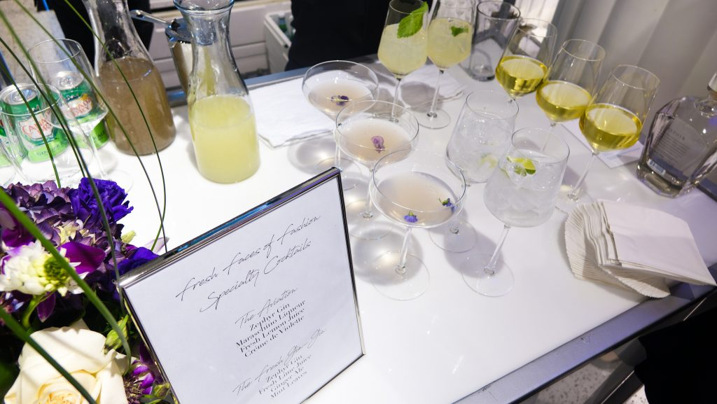 Swift + Co Catering Zephyr Gin Cocktails
