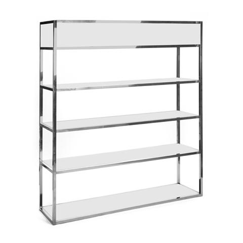 Essex Bar Back Shelf in Stainless