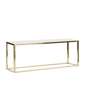 "Bentley 30"" Credenza in Gold"