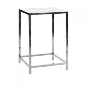 Capital Cocktail Table in Stainless