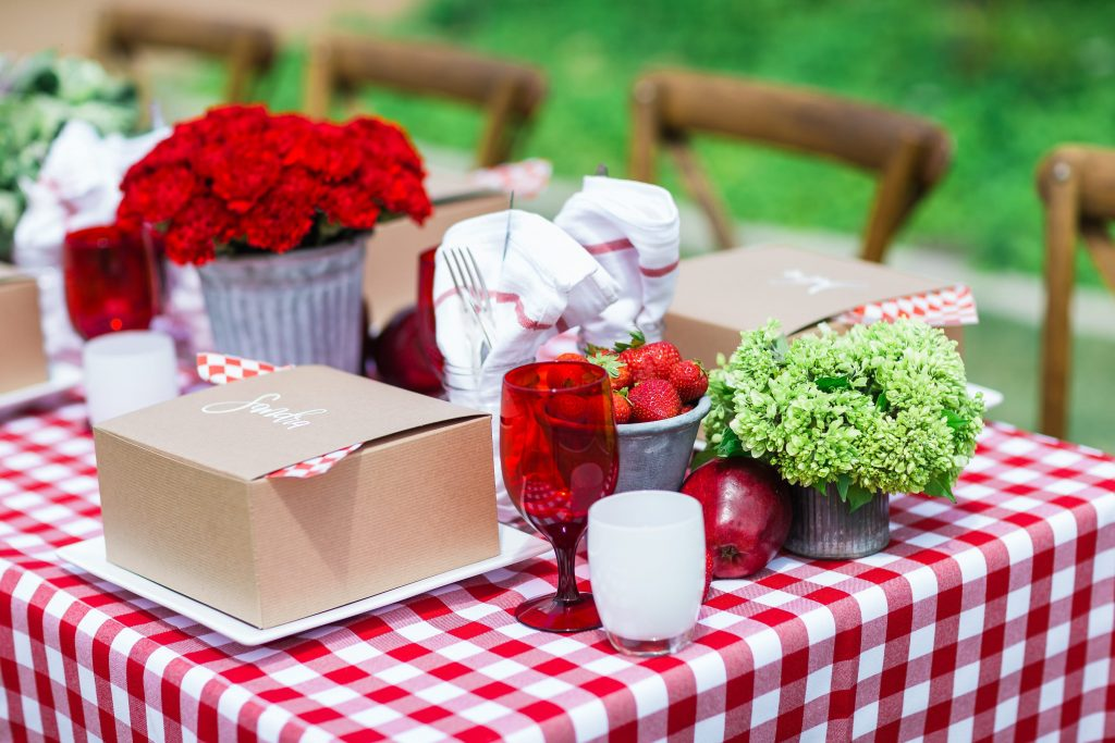 Summer boxed picnic inspiration