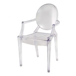 Swift + Company Rentals - Ghost Arm Chair - Houston - Event Rentals