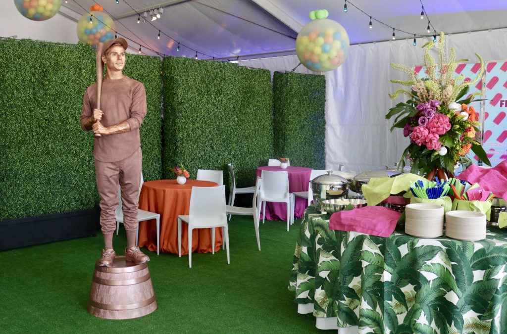 Swift + Company Event Tent Decor