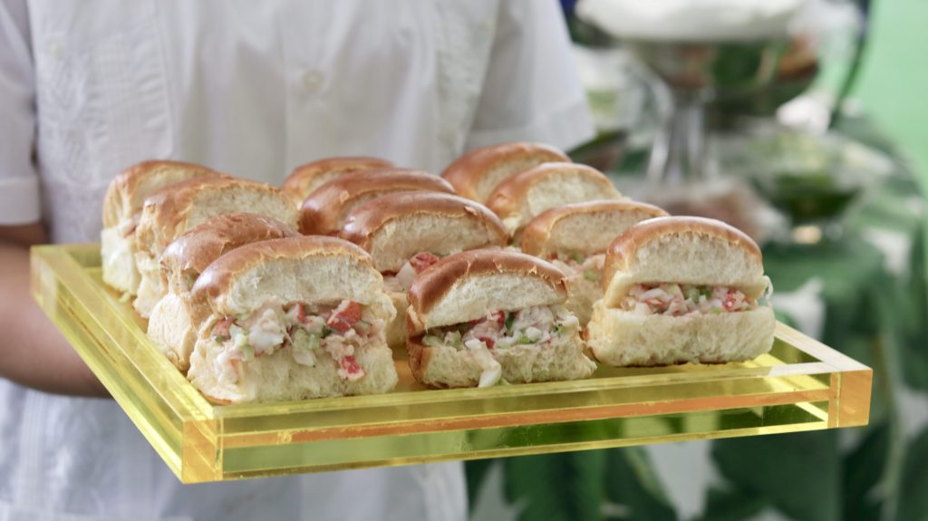 Swift + Company Catering - Passed Hors d'Oeuvres - Lobster Rolls