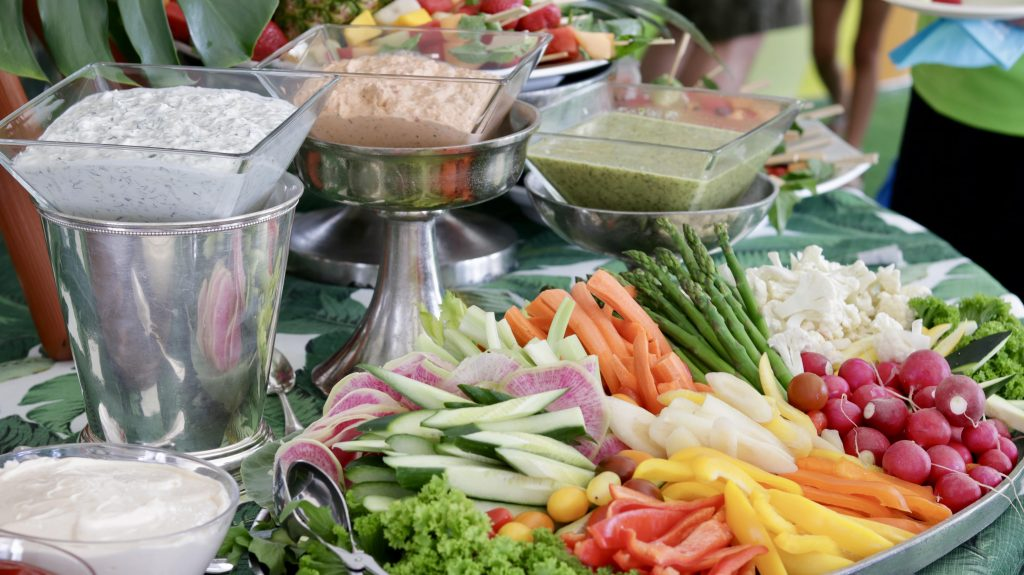 Swift + Company Catering - Food Station - Seasonal Vegetables Crudites