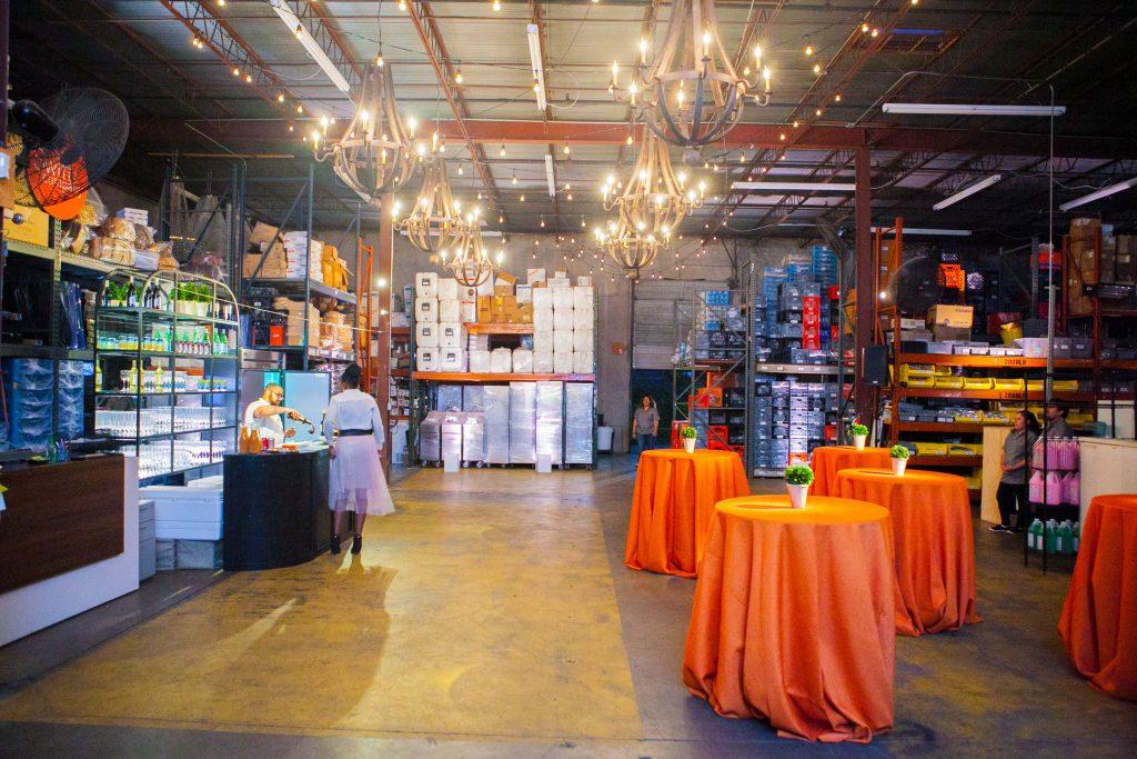 Swift + Company Rentals Warehouse - Houston Event Rentals