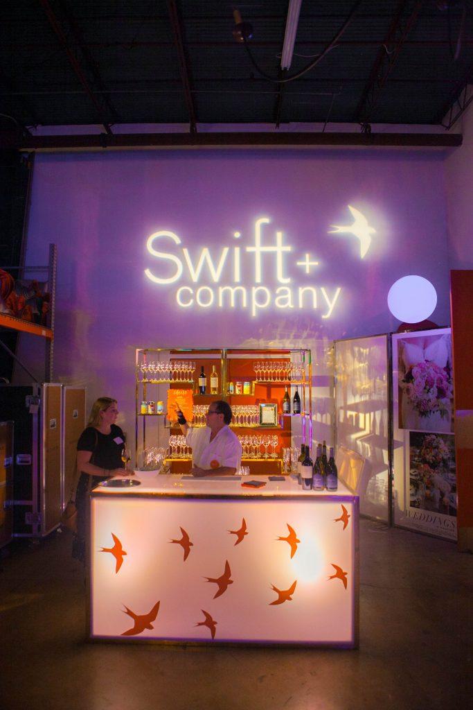 Swift + Company Rentals - Custom Event Bar