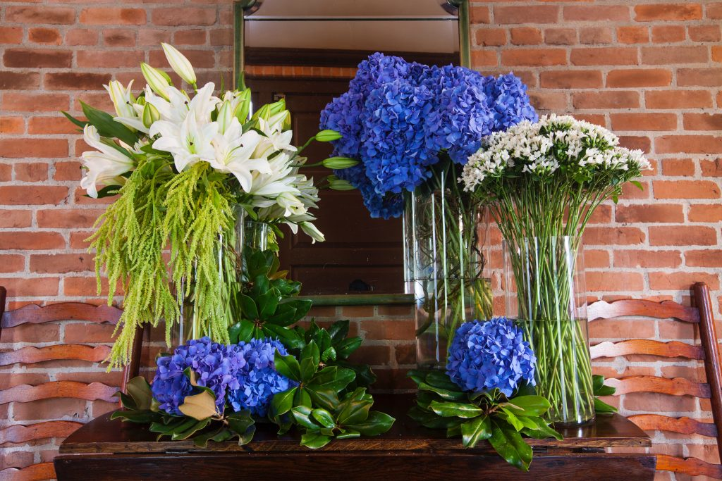 Swift + Company Flowers - Houston Event Florist - Classic Blue Flowers