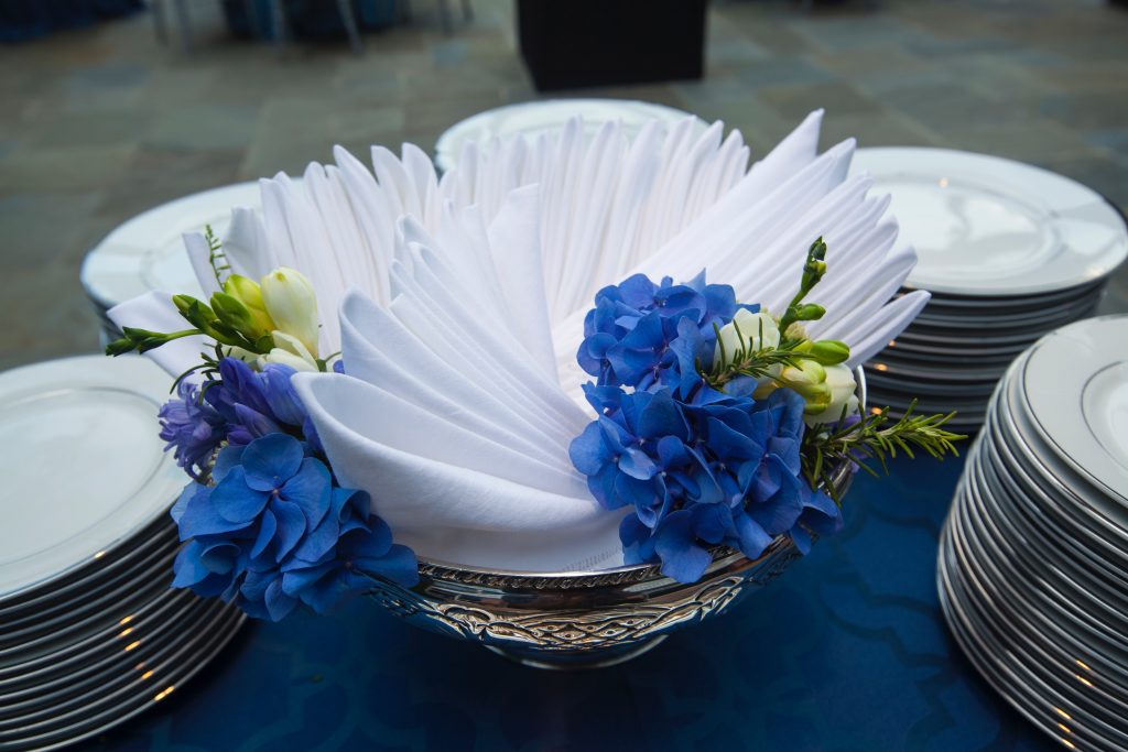 Swift + Company Flowers - Houston Event Florist -  Pantone Color of the Year - Classic Blue Flowers