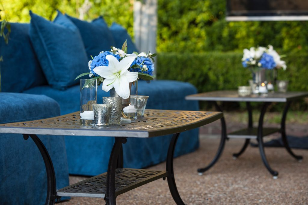 Swift + Company Rentals Lounge Furniture - Classic Blue Lounge Seating
