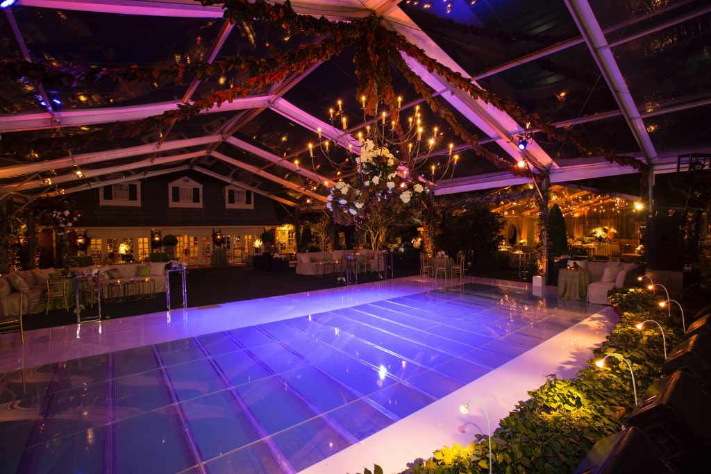 Swift + Company - Houston Full-Service Event Planning - Classic Blue Dance Floor